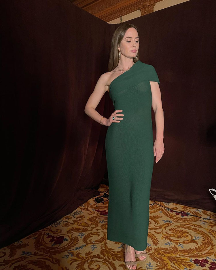 Emily Blunt Wore The Sei Promoting 'Jungle Cruise'