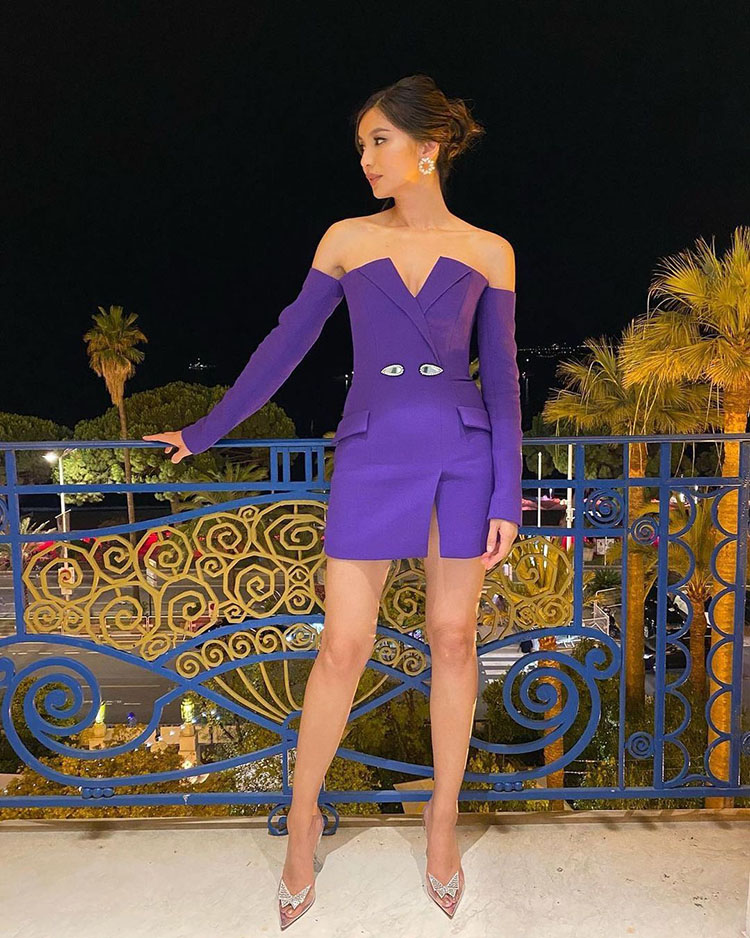 Gemma Chan Wore David Koma During Cannes Film Festival