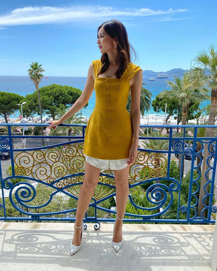 Gemma Chan Wore Hellessy During Cannes Film Festival