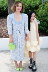 Haley Lu Richardson Wore Ulyana Sergeenko Demi-Couture For The 'After Yang' Cannes Film Festival Photocall
