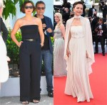 Maggie Gyllenhaal Wore Celine For The Cannes Film Festival Jury Photocall & Opening Ceremony