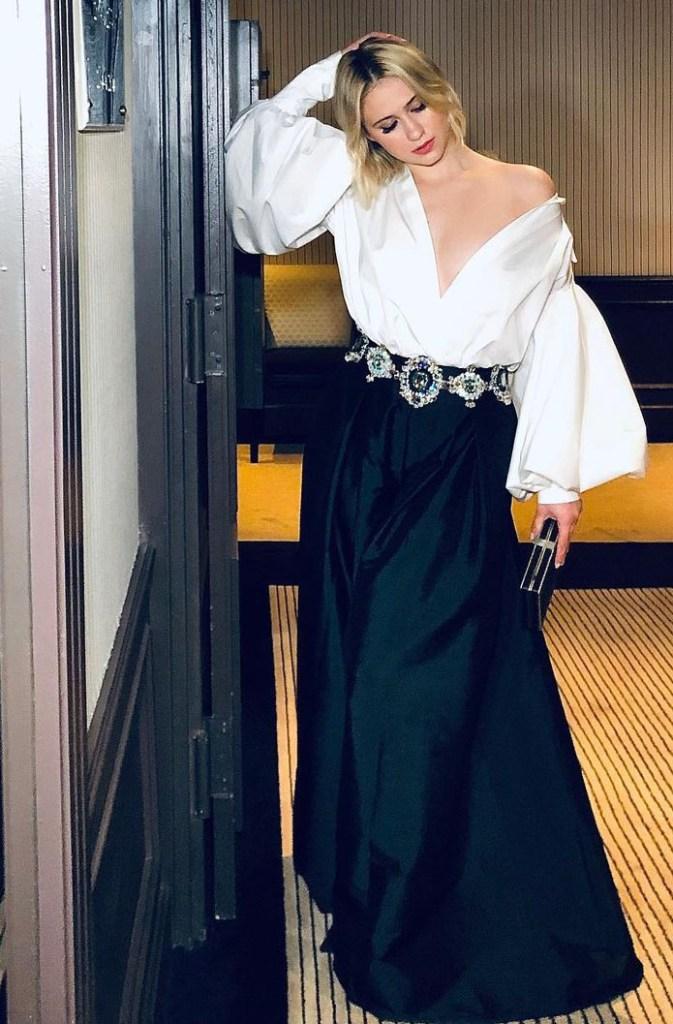 Maria Bakalova Wore Tony Ward Couture During Cannes Film Festival