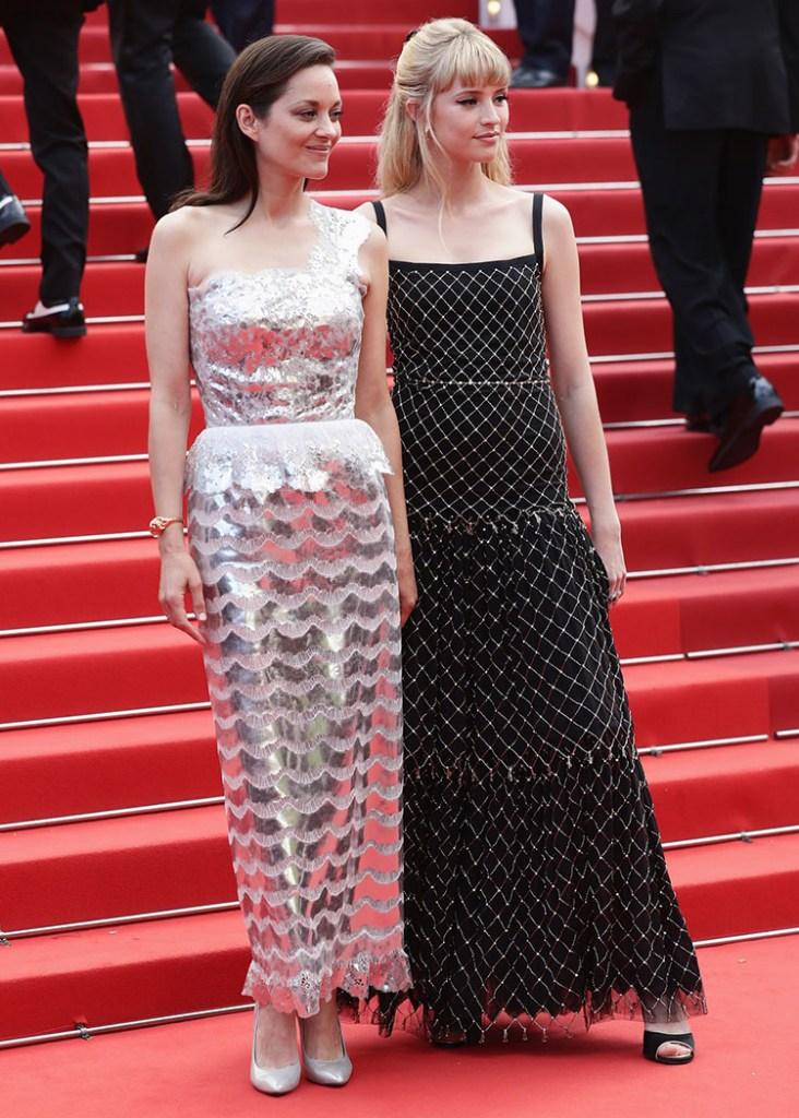 Marion Cotillard Wore Chanel Haute Couture To The 'Annette' Cannes Film Festival Premiere