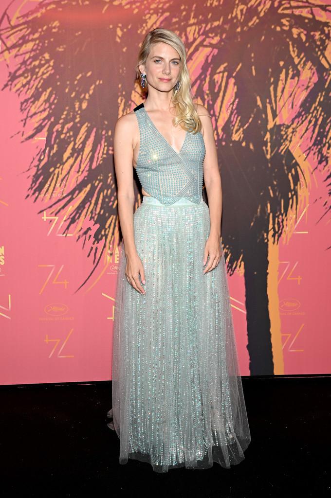 Melanie Laurent in Armani Prive - Cannes Film Festival