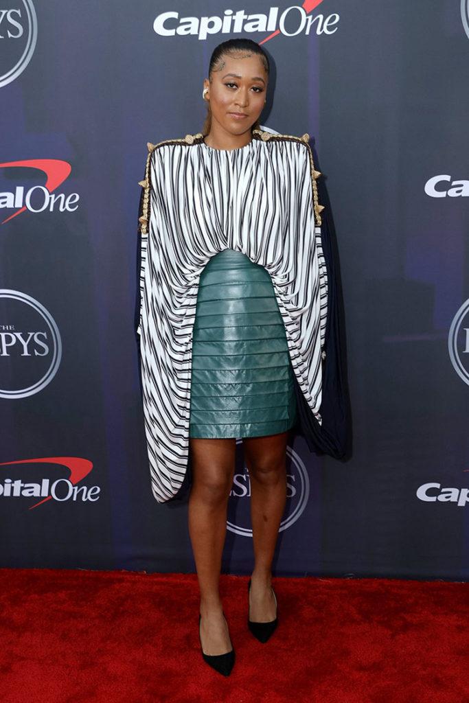 Naomi Osaka in Louis Vuitton - 2021 ESPY Awards