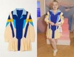 Nicola Coughlan's Stella McCartney Monica Hooded Paneled Dress