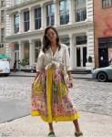Jessica Alba's Summer In The City Dressed In Etro