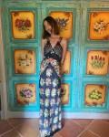 Alexa Chung Wore Paco Rabanne On Her Mallorca Vacation