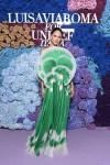 Eiza González Wore Del Core To The LuisaViaRoma for UNICEF Event