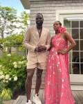 Gabrielle Union-Wade Wore Prabal Gurung & Carolina Herrera For Barack Obama's 60th Birthday Celebrations