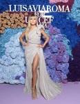 Heidi Klum Wore Elie Saab Haute Couture To The LuisaViaRoma for UNICEF Event