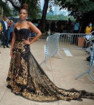 Jennifer Hudson Wore Dolce & Gabbana Alta Moda Performing At The 'We Love NYC: The Homecoming Concert'