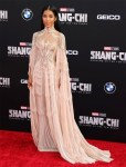 Jhené Aiko Wore Iris van Herpen Haute Couture To The 'Shang-Chi And The Legend Of The Ten Rings' LA Premiere