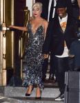 Lady Gaga Wore Georges Hobeika Couture Departing Radio City Music Hall