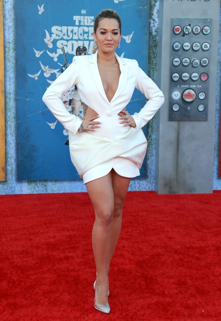 Rita Ora Wore Azzi & Osta To 'The Suicide Squad' LA Premiere