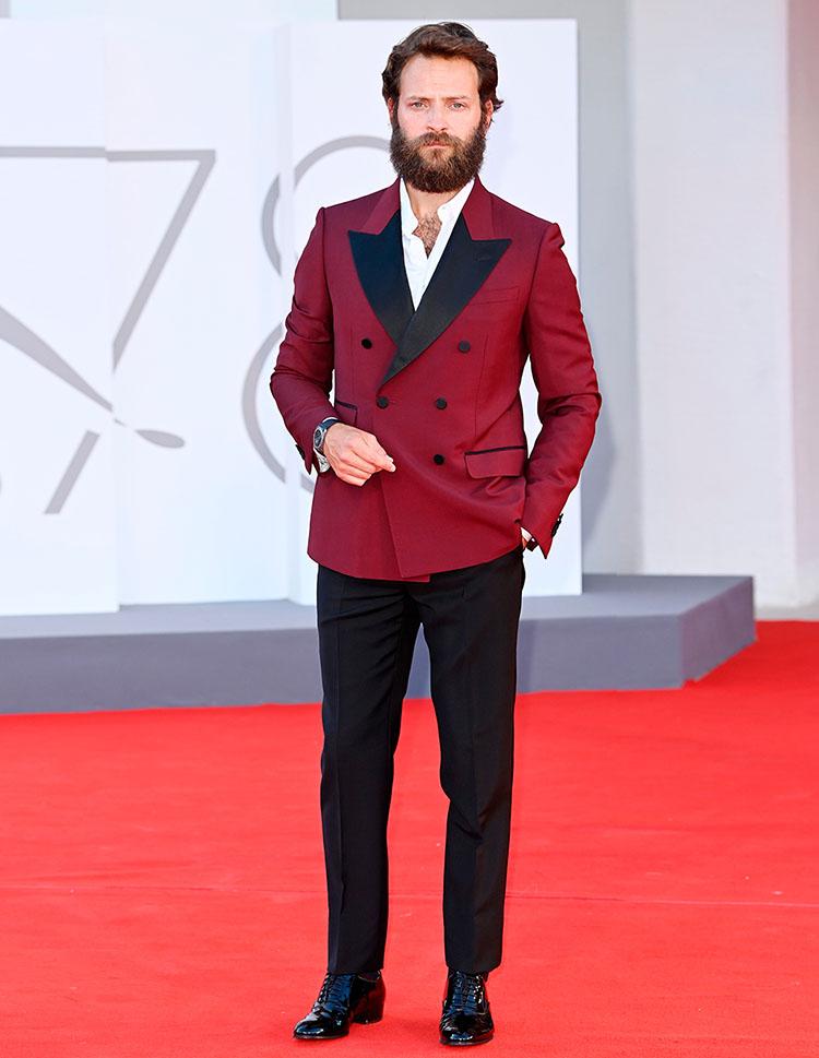 Alessandro Borghi Gucci Venice Film Festival