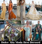 Who Was Your Best Dressed From The Dolce & Gabbana Alta Moda 2021 Weekend?