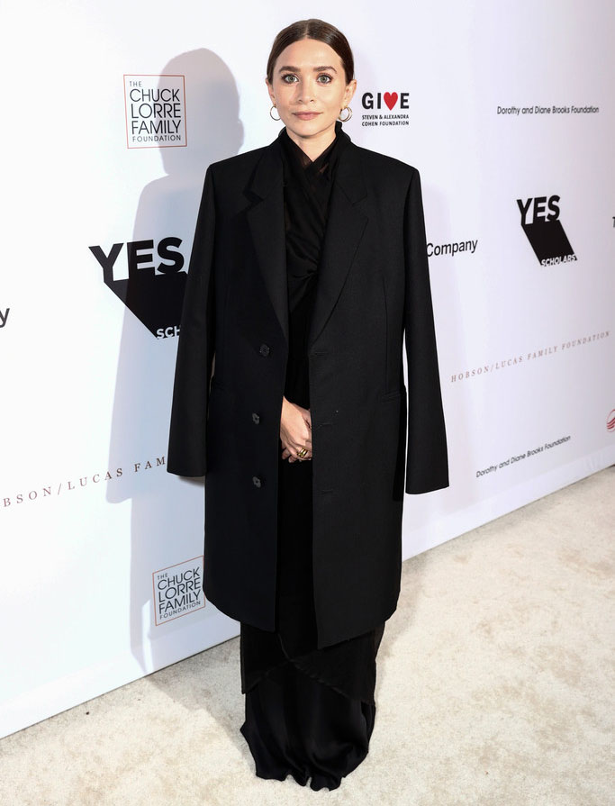 Ashley Olsen Wore The Row To The YES 20th Anniversary Gala