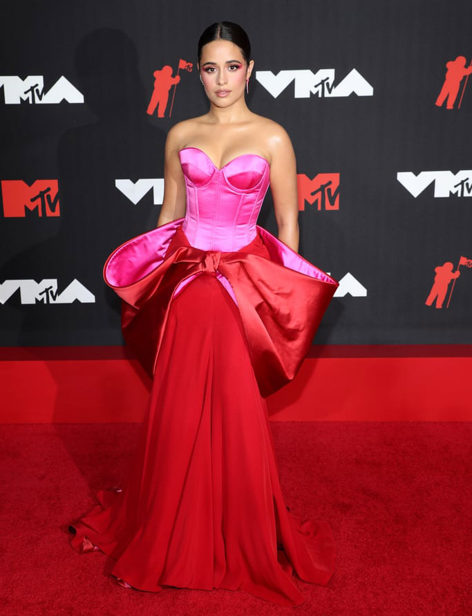 Camila Cabello Wore Alexis Mabille Haute Couture To The 2021 MTV VMAs