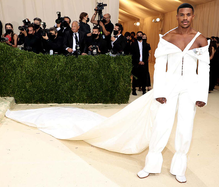 Jeremy PopeWore Dion Lee To The 2021 Met Gala