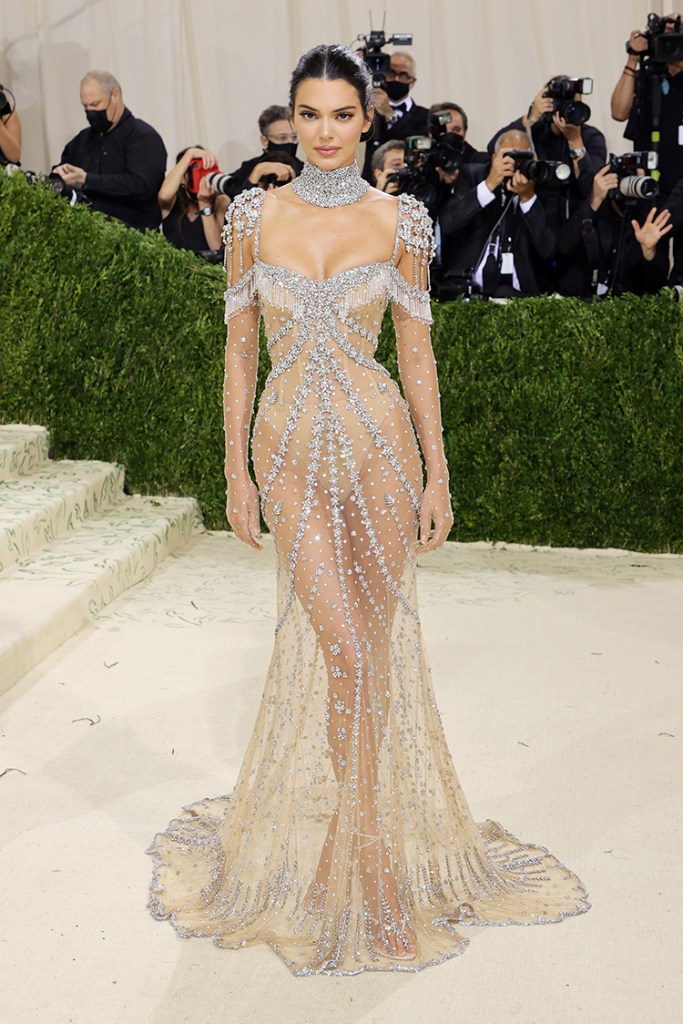Kendall Jenner in Givenchy Haute Couture - 2021 Met Gala