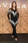 Lily Aldridge Wore Burberry For The Bvlgari B.Zero1 Fashion Week Party