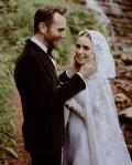 Lily Collins Weds Charlie McDowell In Ralph Lauren