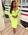 Mindy Kaling Wore Alex Perry For The 'Gram
