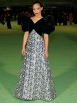 Ruth Negga Wore Vintage Arnold Scassi To The Academy Museum Of Motion Pictures Opening Gala