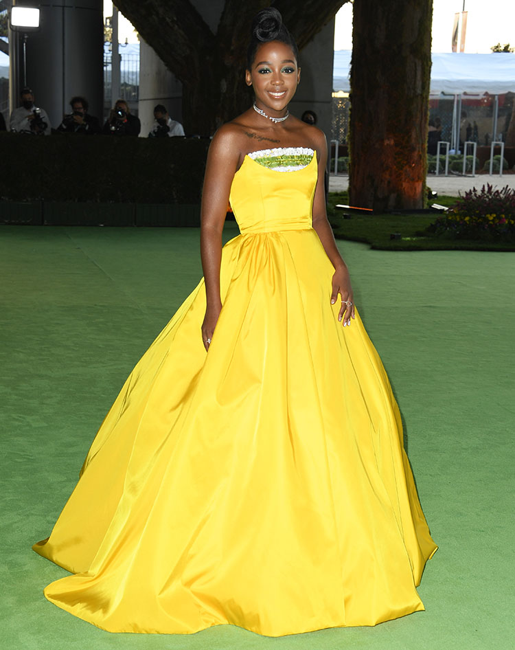 Thuso Mbedu Wore Prada To The Academy Museum Of Motion Pictures Opening Gala