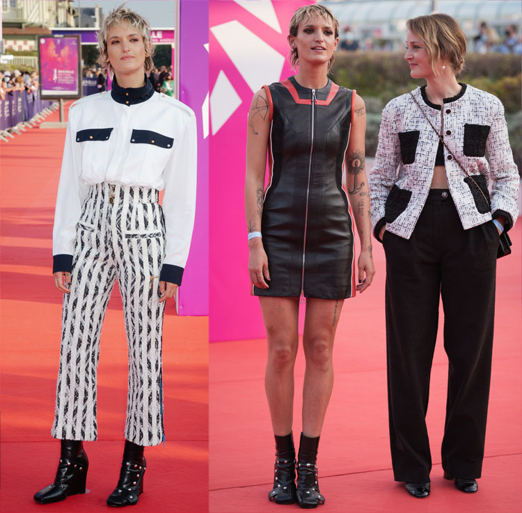 Vicky Krieps Louis Vuitton 2021 Deauville American Film Festival