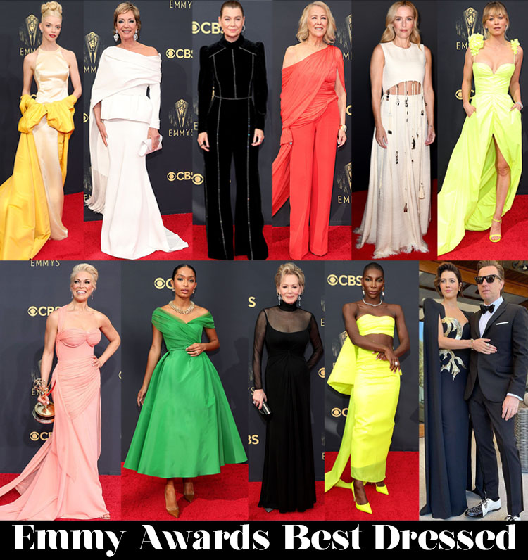 Who Was Your Best Dressed At The 2021 Emmy Awards?