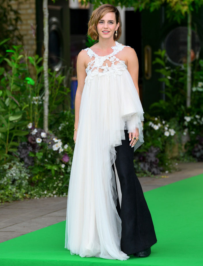 Emma Watson Wore Harris Reed To The 2021 Earthshot Prize Awards