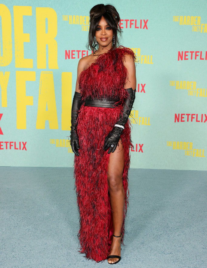 Kelly Rowland in Marcell von Berlin - 'The Harder They Fall' LA Premiere