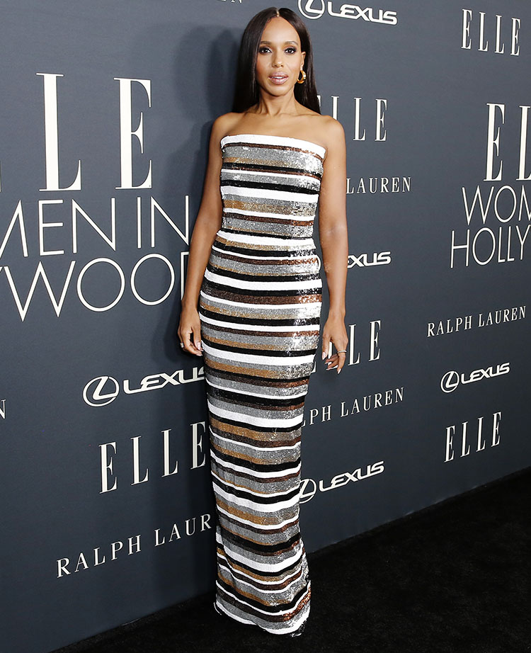 Kerry Washington Wore Ralph & Russo To ELLE's Women In Hollywood Celebration