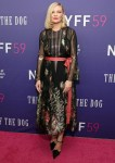 Kirsten Dunst Wore Gucci To The 'Power Of The Dog' New York Film Festival Premiere