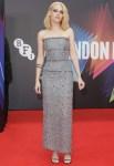 Kristen Stewart Wore Chanel Haute Couture To The 'Spencer' London Film Festival Premiere
