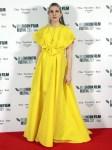 Lily Rabe Wore Carolina Herrera To 'The Tender Bar' London Film Festival Premiere