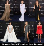 Who Was Your Best Dressed At The 'Eternals' World Premiere?