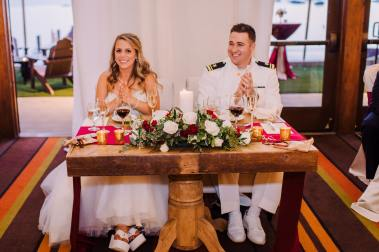 Tahoe Navy Wedding 13