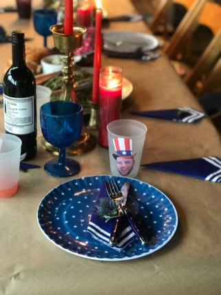 family party ideas: july fourth table decorations