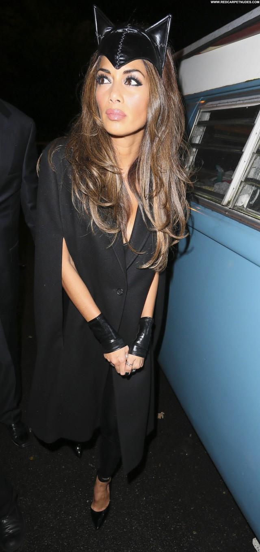 Nicole Scherzinger Halloween Party Posing Hot London Party High