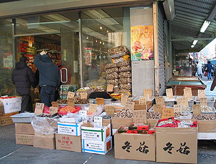 New York Chinatown Store