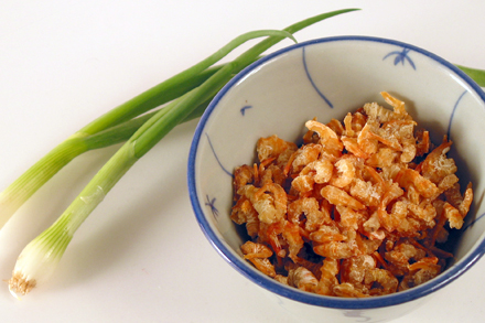 Dried Shrimps and Scallion