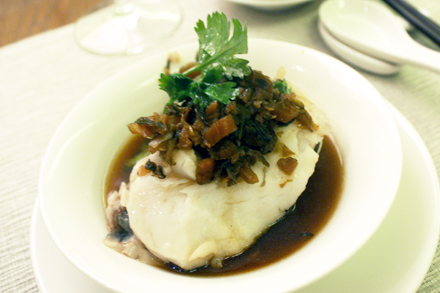 Steamed Xunke on Individual Plate