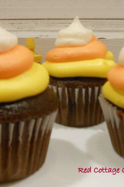 Candy Corn Cupcakes and a Giveaway!