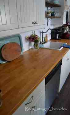Ikea Butcher Block Countertops Red Cottage Chronicles
