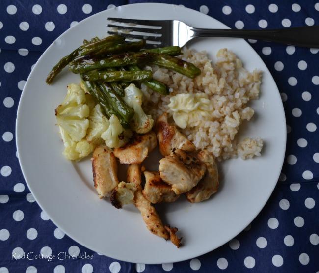 Roasted Veggie Dinner