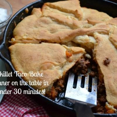 Skillet Taco Bake