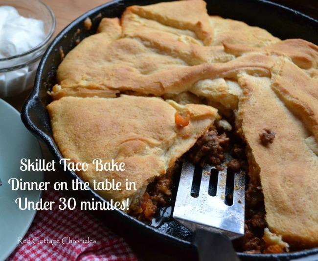Skillet Taco Bake 5